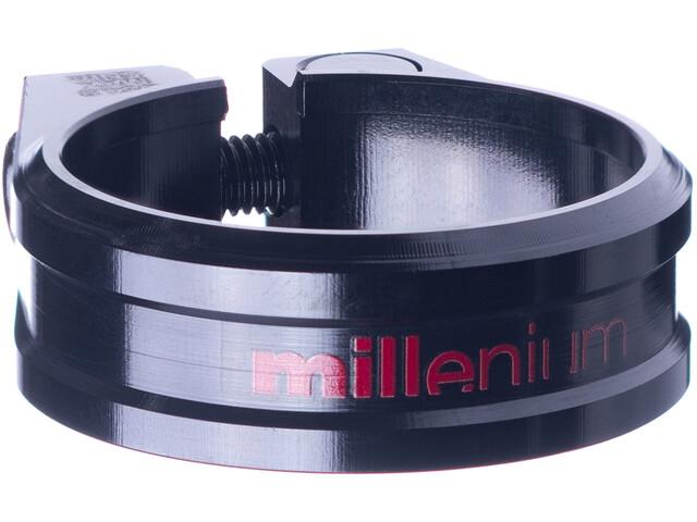 Sixpack Millenium Collier de selle Ø34,9mm, black/red